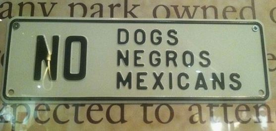 no dogs mexicans