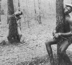 two men hanging