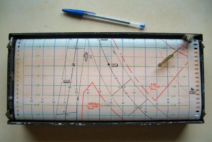 Decca Navigation Chart